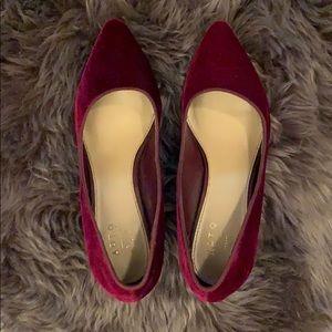 Apt 9 Red Velvet Heels